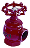 Кран пожарный ПК-50 чугун угловой