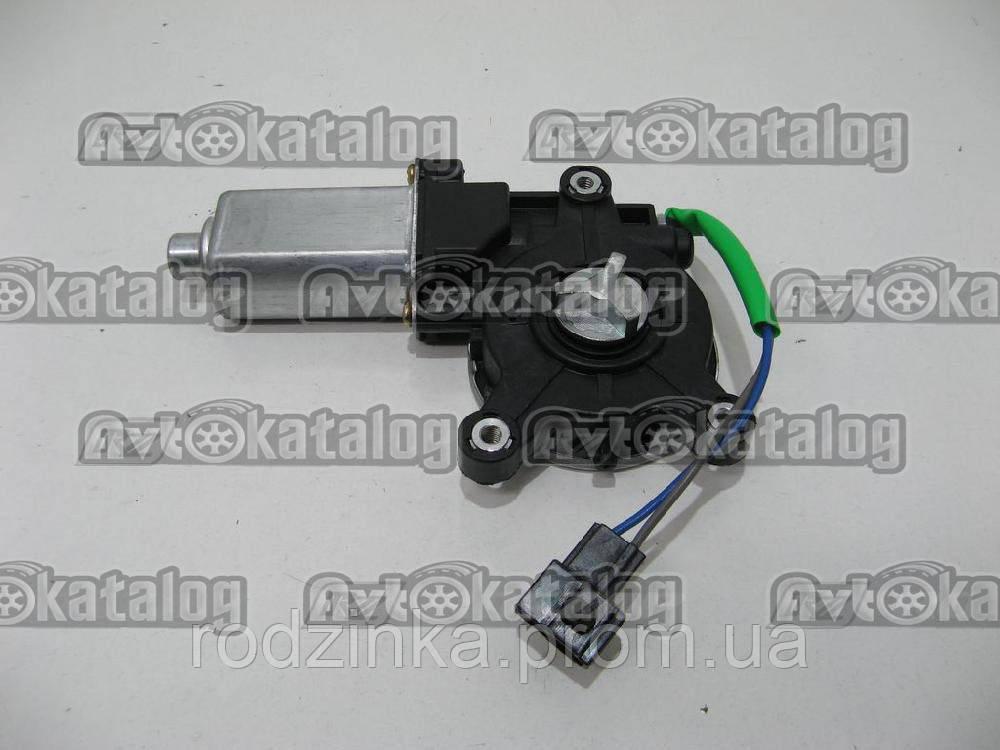Мотор стеклоподьемника лівий хрест Ланос FSO