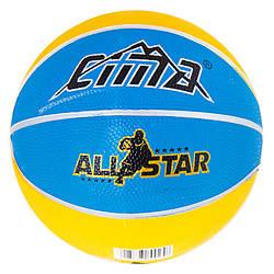 Go Мяч баскетбольный для улицы, зала, стритбола Molten резиновый 3 Sima M83-282468