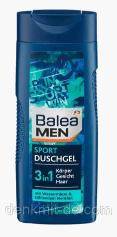 Гель для душа Balea Men 3in1 Sport 300мл