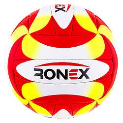 Go Мяч волейбол Ronex Orignal Grippy Red/Yel/Black M83-282508