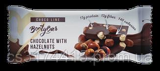 Протеиновый батончик Bootybar Choco Line Шоколад с Фундуком (50 грамм)
