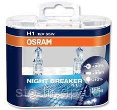 Лампа H1 55w 12v 64150nbp duo (2шт) osram