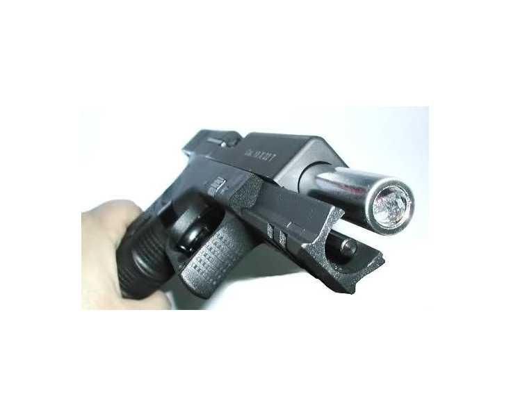 Пістолет стартовий Stalker(Zoraki) 917 blakc matte