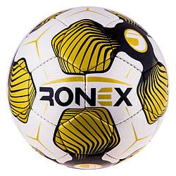 Go Мяч футбольный спортивный, лучший мячик для игры в футбол CordlySnake Ronex Uhl золото M83-282615