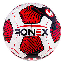 Go Мяч футбольный спортивный, лучший мячик для игры в футбол CordlySnake Ronex Uhl красный M83-282616