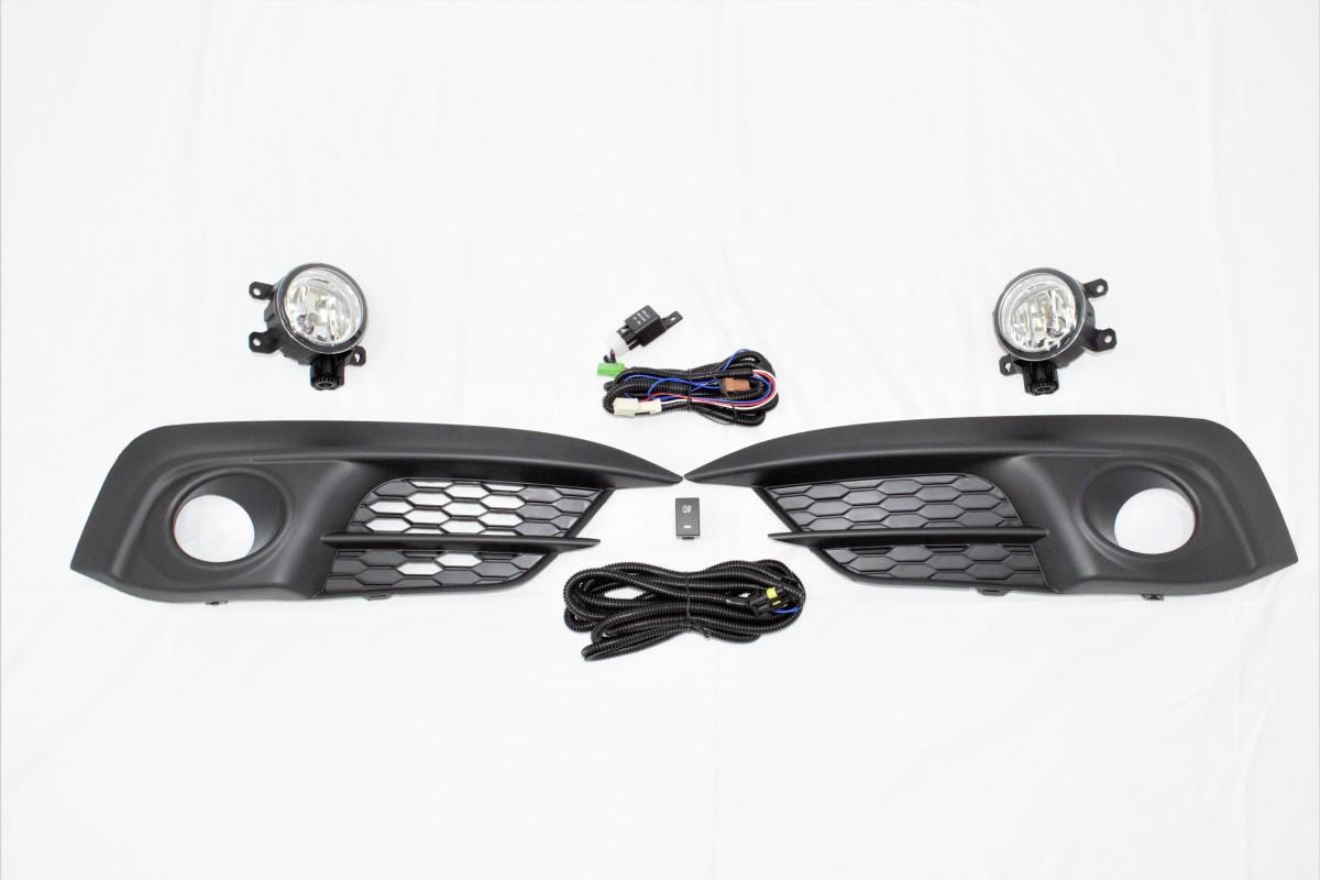 Комплект противотуманных фар Honda Civic 4D 2016-