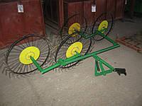 Грабли-ворошилки «Солнышко» ГВР-4 (с креплением к трактору; 4-х колеса), фото 1
