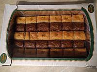 Пахлава медовая с какао ,волошским орехом и фисташкой Amanti 1кг
