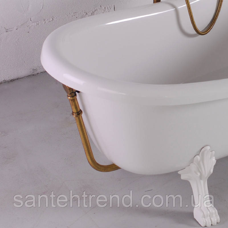 Злив/перелив для ванни Lady Hamilton, бронза