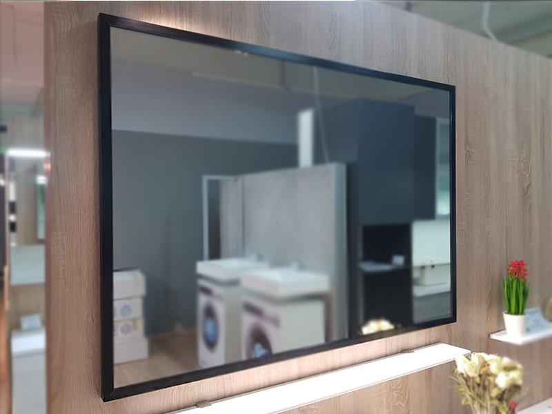 Зеркало в рамке 1000х700 белая рамка