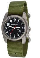 Мужские часы Bertucci 12122 A-2T Classics Khaki Titanium Титан
