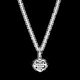 """Срібне намисто Pandora """"Блискучий синій місяць і зорі"""" 399232C01, фото 3"""