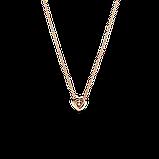 """Серебряное колье Pandora Rose """"Блестящее сердце"""" 388425C01, фото 3"""