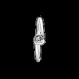 "Срібна каблучка Pandora ""Прозоре асиметричне серце"" 199267C02, фото 2"