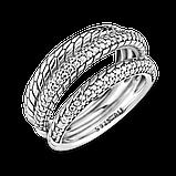 Срібна каблучка Pandora з ланцюговим орнаментом 199083C01, фото 4