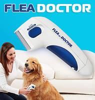 Гребінь анти-блоха електрична щітка для тварин з функцією знищення бліх Flea Doctor щітка