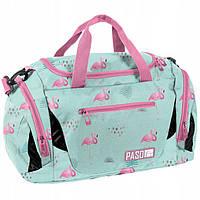 Велика дитяча спортивна сумка Paso Unique PPLF19-019 Фламінго для дівчини