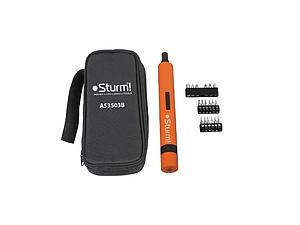 Аккумуляторная отвертка Sturm AS3503B в сумке 3.6В 1,5Ач