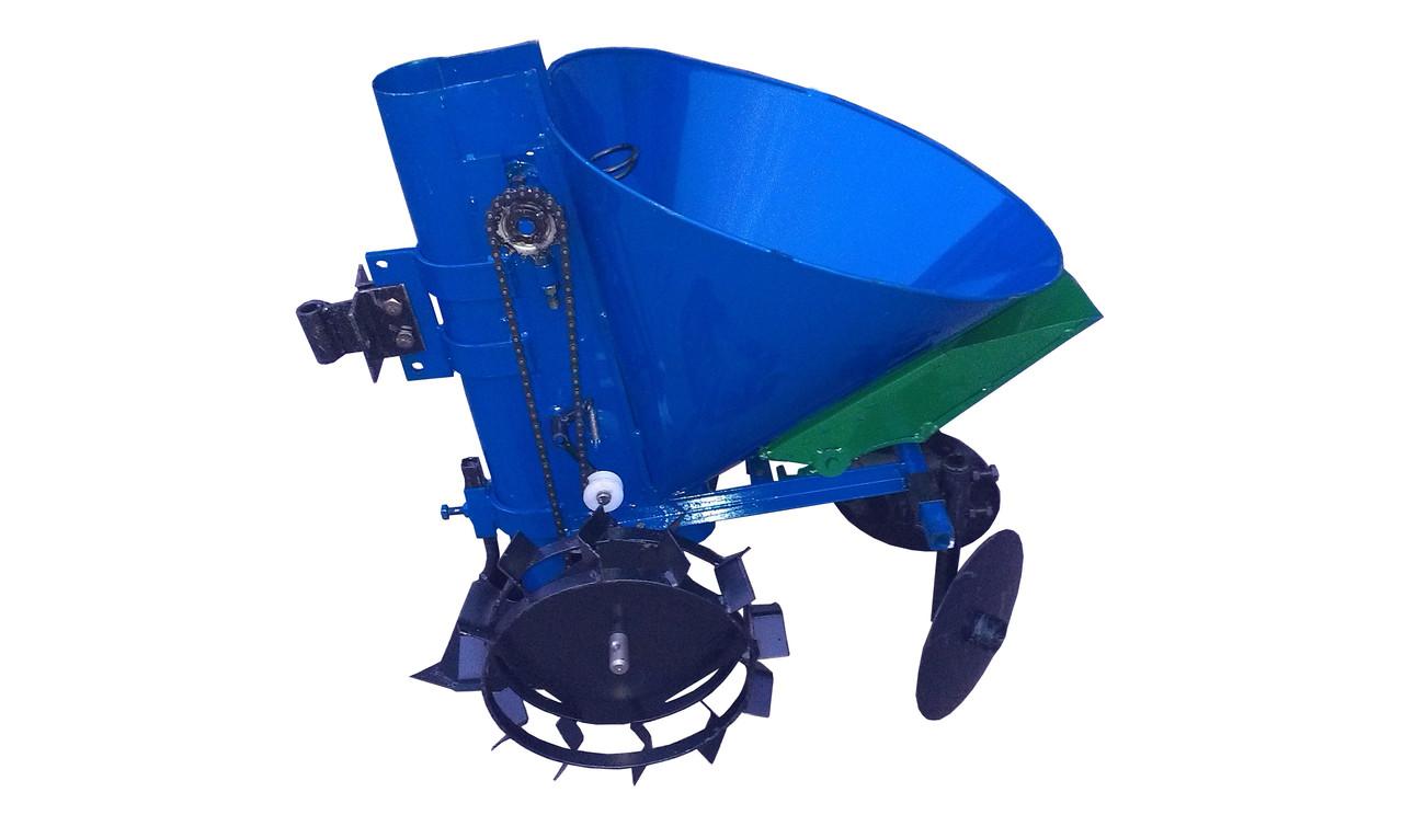 Картофелесажалка КСМ-1ЦУ (синяя)