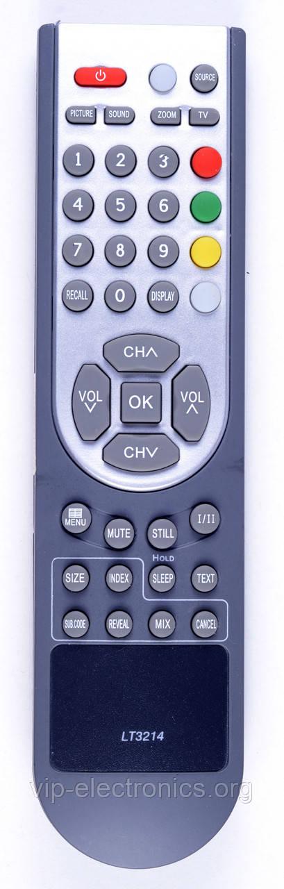 Пульт BBK RC-2614 (3214) Cameron Sitronics EN-21610 (TV) LCD як оригінал