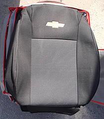 Чехлы VIP на CHEVROLET Aveo 2005 - автомобильные модельные чехлы на для сиденья сидений салона CHEVROLET