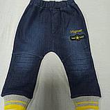 Костюм тёплый модный оригинальный красивый нарядный для мальчика. В комплекте кофта водолазка и джинсы., фото 4