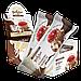 Протеїновий батончик BootyBar Choco Line Суничний Пиріг з Кокосом (50 грам), фото 3