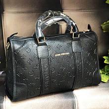 Женская сумка в стиле Lоuіs Vuіttоn (Луи Виттон) с тиснением ( код: KB985 )