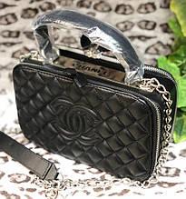 Женская стеганная сумка в стиле Сhаnеl (Шанель), ЛЮКС копия ( код: KB989 )