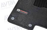 Коврики в салон ворсовые AVTM для Nissan Qashqai (2007-2013) /Чёрные Premium BLCLX1424, фото 5