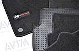 Коврики в салон ворсовые AVTM для Nissan Qashqai (2007-2013) /Чёрные Premium BLCLX1424, фото 10