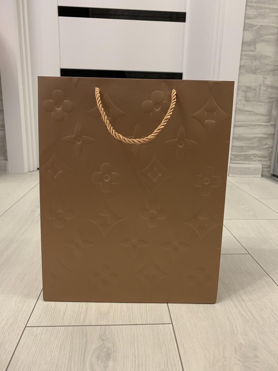 Фірмовий Пакет Louis Vuitton Луї Вітон пакувальний золотий