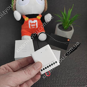 Контроллер Xiaomi Aqara Wireless Relay Controller Реле