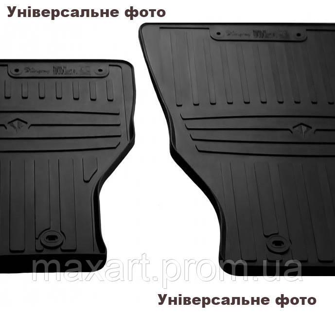 Коврики в салон для Porsche Cayenne (PO536) (2017-.) (special design 2017) with plastic clips AV2 (4 шт)