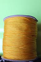 Шнур для браслетов Шамбала желтый (1,5 мм)
