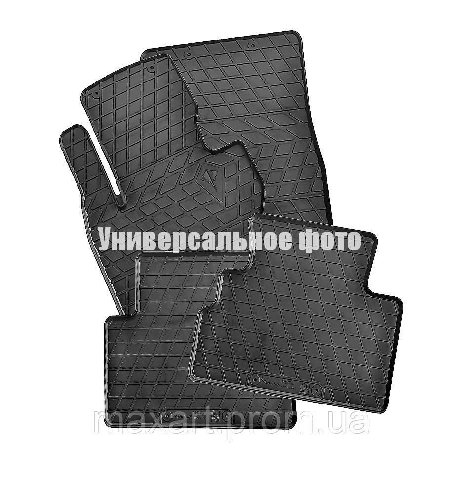 Коврики в салон для Peugeot 2008 II (2019-) (design 2016) with plastic clips CP2 (4 шт)