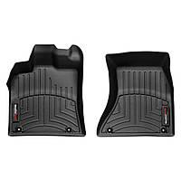 Коврики в салон для Audi Q5 2008- с бортиком черные передние 442301