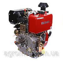 Двигатель дизельный Weima WM188FBE (вал под шпонку) 12 л.с. эл.старт, съемный цилиндр, фото 10