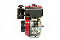 Двигатель дизельный Weima WM178FЕ (вал под шлицы) 6.0 л.с., эл. старт, фото 3