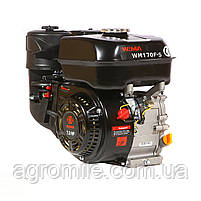 Двигатель бензиновый Weima WM170F-S New (HONDA GX210) (шпонка, вал 20 мм, 7.0 л.с.), фото 2