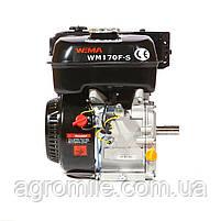 Двигатель бензиновый Weima WM170F-S New (HONDA GX210) (шпонка, вал 20 мм, 7.0 л.с.), фото 8