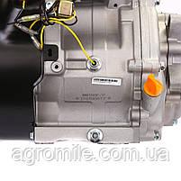 Двигун бензиновий Weima WM190F-L (R) NEW (вал під шпонку, 25 мм, 16 л. с., редуктор ), фото 8