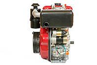 Двигатель дизельный Weima WM186FBE (вал под шлицы) 9.5 л.с. съёмный цилиндр, фото 3