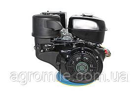 Двигун бензиновий GrunWelt GW460F-S (18 к. с., шпонка)