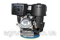 Двигатель бензиновый GrunWelt GW460FE-S (18 л.с., шпонка), фото 6