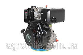 Двигун дизельний GrunWelt GW186FВ (9,5 л. с., шпонка)