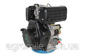 Двигун дизельний GrunWelt GW192FE (14 к. с., шпонка)