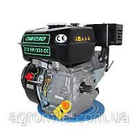 Двигатель бензиновый GrunWelt GW230-T/20 Евро 5 (шлицы, вал 20 мм, 7.5 л.с.), фото 4