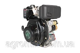 Двигун дизельний GrunWelt GW178F (вал під шліци, ручний старт)
